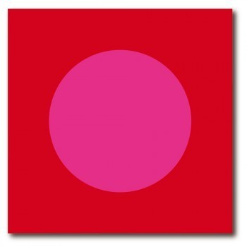 "Fifty50 Bild ""Pink meets Red"""